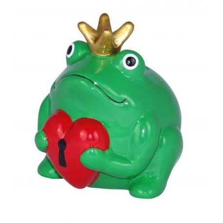 Frogmania Freddy Love Pomme Pidou, tirelire grenouille