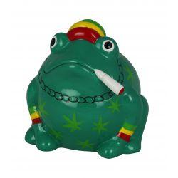 Frogmania Reggae Pomme Pidou, tirelire grenouille