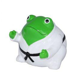 Frogmania Judo Freddy Pomme Pidou,tirelire grenouille