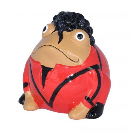 Frogmania Michael Jackson Pomme Pidou, tirelire grenouille