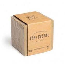 Savon de Marseille Fer à Cheval Cube Olive, 100, 300 ou 600g