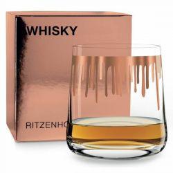 Next Whisky Coulées, verre à Whisky Ritzenhoff sérigraphié