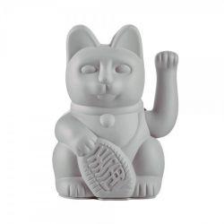 Maneki Neko Lucky Cat Donkey, Grey chat japonais porte-bonheur
