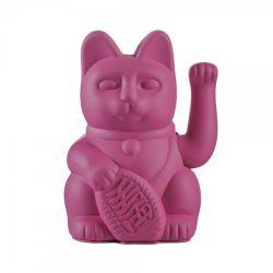 Maneki Neko Lucky Cat Donkey, Purple chat japonais porte-bonheur