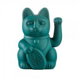 Maneki Neko Lucky Cat Donkey, Green chat japonais porte-bonheur