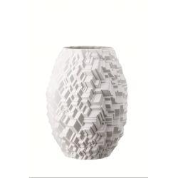 Phi City Vase 28 cm design Cairn Young en porcelaine Rosenthal