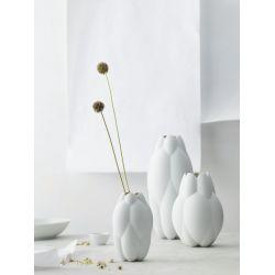 Core Cédric Ragot, Vase 16cm blanc ou noir, porcelaine Rosenthal