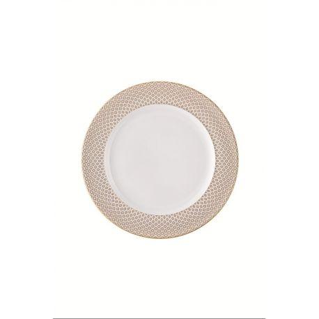 Francis Carreau Beige Rosenthal, assiette dessert, plate, creuse