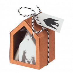 Räder Little Christmas Mini Crèche de Noël en boite cadeau