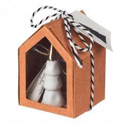 Räder Little Christmas Mini Sapin en porcelaine en boite cadeau