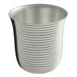 Chantilly - Timbale Ercuis - en métal argenté pour baptême
