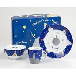 Coffret enfant Le Petit Prince 3 pièces en porcelaine Könitz