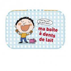 Boite à dents de lait, fille ou garçon - Derrière la porte