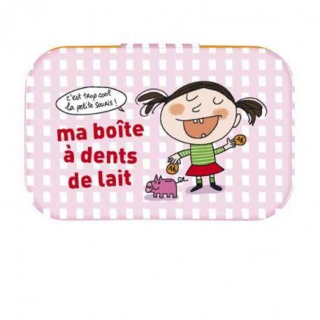 Boite à dents de lait, fille ou garçon