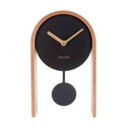 Smart pendulum, Horloge à poser à balancier, bois clair Karlsson