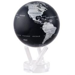 Globe autorotatif Mova planète Mappemonde métalisée