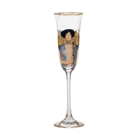 """Flûte à champagne """"Judith"""" de Klimt"""