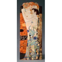 Les 3 Âges de la femme de Klimt - Vase 23 cm - Parastone