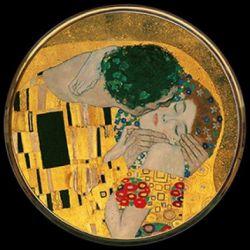 Le Baiser de Gustav Klimt - Miroir de poche refermable