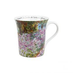 Le jardin de l artiste Monet - Mug évasé porcelaine avec anse - Konitz