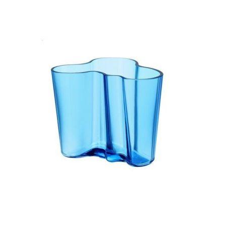 Savoy Iittala - Vase Aalto 16 cm Coloris bleu clair
