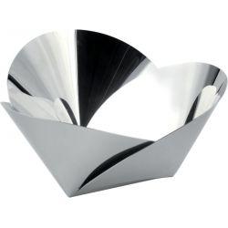 Harmonic corbeille Alessi 22 cm en inox Design Abi Alice
