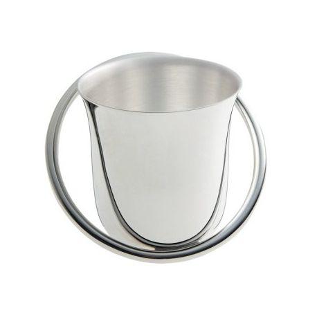 Houpla - Timbale Ercuis - en métal argenté pour baptême