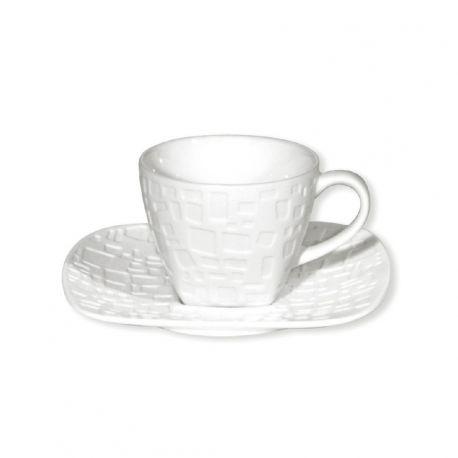 Tasse à café Kara Bruno Evrard Créations Porcelaine