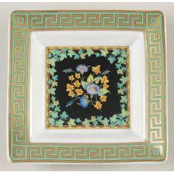 Gold Ivy Versace - Vide-poche carré 8 cm - Versace Rosenthal