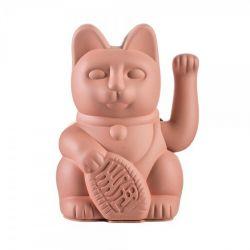 Maneki Neko Lucky Cat Donkey, Pink chat japonais porte-bonheur
