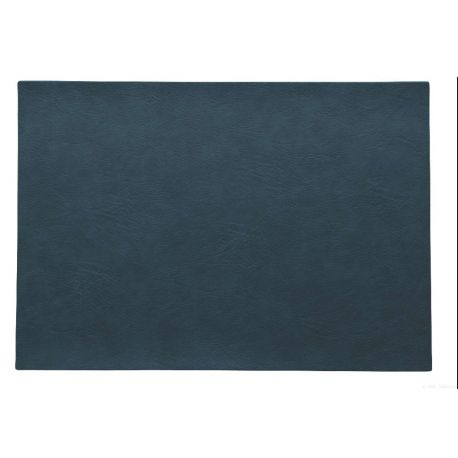 Asa set de table vegan leather simili cuir bleu marin 33x46 cm