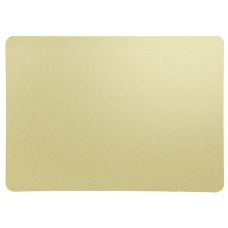 Asa set de table leather optic simili cuir stone 33x46 cm