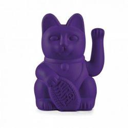 Maneki Neko Lucky Cat Donkey, Violet chat japonais porte-bonheur