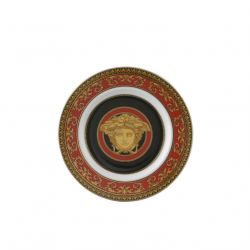 ROSENTHAL VERSACE - Medusa Assiette Porcelaine Rouge 18 cm ou 30 cm