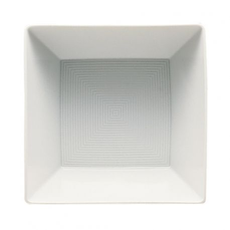 Loft Assiette carrée Porcelaine