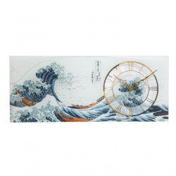 ARTIS ORBIS Horloge murale La Grande Vague Hokusai