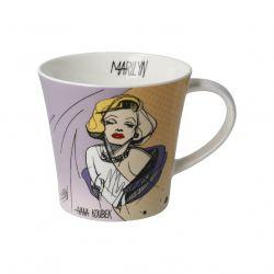 Marilyn Monroe Mug star en Porcelaine Goebel d Ivana Koubek