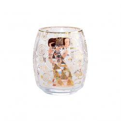 ARTIS ORBIS Klimt L Attente, Photophore en verre décorée