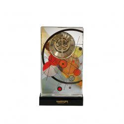 Pendule à poser Kandinsky Cercles encerclés par Artis Orbis