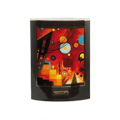 ARTIS ORBIS Vase 24 cm de Kandinsky Rouge Lourd