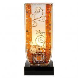 ARTIS ORBIS Stoclet Fries de Gustav Klimt-Lampe en verre 34 cm
