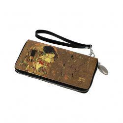 ARTIS ORBIS Le Baiser Portefeuille Klimt simili cuir décoré