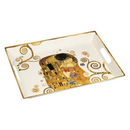 ARTIS ORBIS Le Baiser de Gustav Klimt-plateau en mélamine