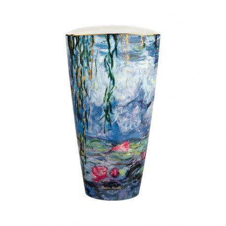 ARTIS ORBIS Nymphéas de Claude Monet-Vase en porcelaine 28 cm