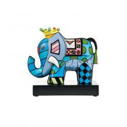 ARTIS ORBIS Great India 3, Figurine porcelaine Britto décorée