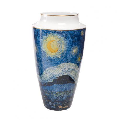 ARTIS ORBIS Nuit étoilée de Van Gogh Vase en porcelaine 30 cm