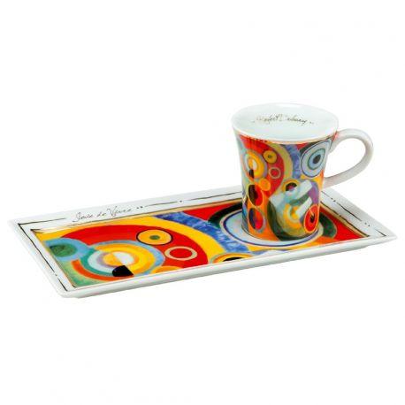 ARTIS ORBIS Café Espresso gourmand, Joie de Vivre de R.Delaunay