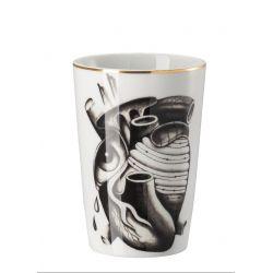 Cilla Marea Rosenthal, Gobelet mug sans anse, Coeur Tatouage