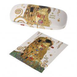 Étui à lunette simili-cuir «Le Baiser» de Klimt, Artis Orbis