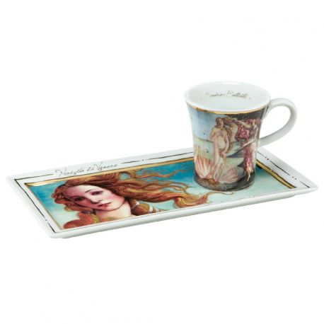 """Café Espresso Gourmand """"La naissance de Vénus"""" de Botticelli 10cl"""